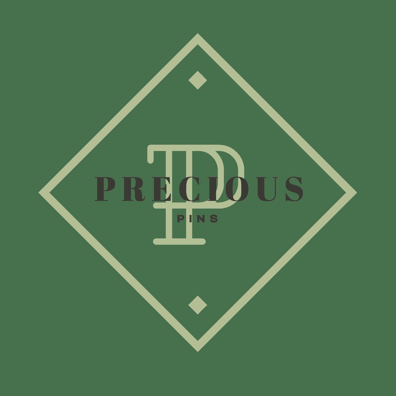 logo precious pins